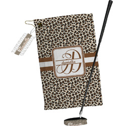 Leopard Print Golf Towel Gift Set (Personalized)