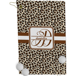 Leopard Print Golf Towel - Full Print (Personalized)