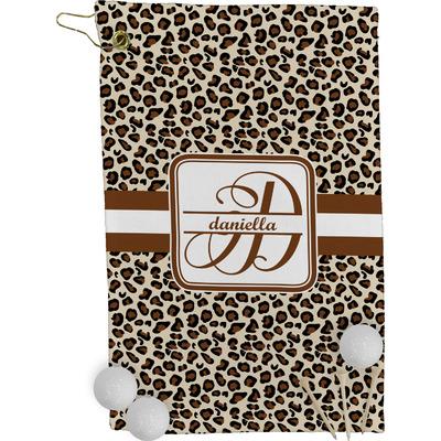 Leopard Print Golf Towel - Full Print (Personalized)