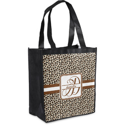 Leopard Print Grocery Bag (Personalized)