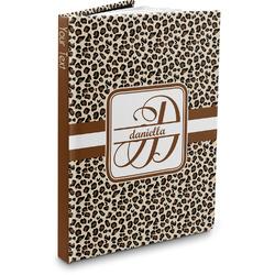 Leopard Print Hardbound Journal (Personalized)