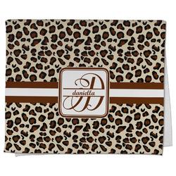 Leopard Print Kitchen Towel - Full Print (Personalized)