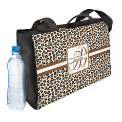 Leopard Print Ladies Workout Bag (Personalized)
