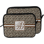 Leopard Print Laptop Sleeve / Case (Personalized)