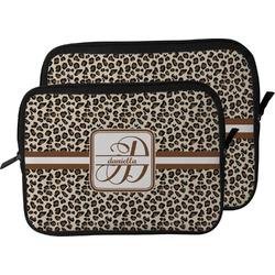 Leopard Print Laptop Sleeve / Case (Personalized)