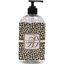 Leopard Print Plastic Soap / Lotion Dispenser (Personalized)