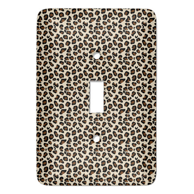Leopard Print Light Switch Covers (Personalized)