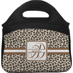 Leopard Print Lunch Tote (Personalized)