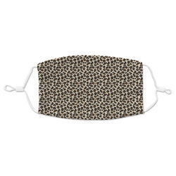 Leopard Print Adult Cloth Face Mask (Personalized)