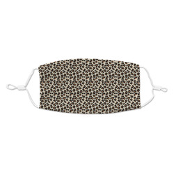 Leopard Print Kid's Cloth Face Mask (Personalized)