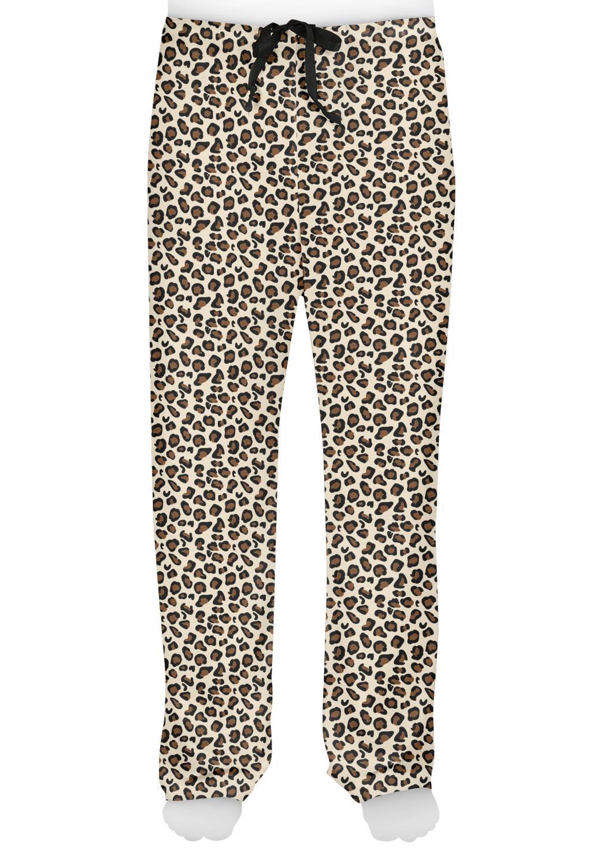 Leopard Print Mens Pajama Pants Personalized Youcustomizeit