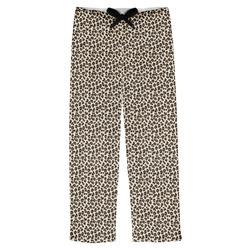 Leopard Print Mens Pajama Pants (Personalized)