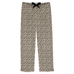 Leopard Print Mens Pajama Pants (Personalized)