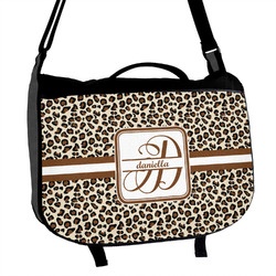 Leopard Print Messenger Bag (Personalized)