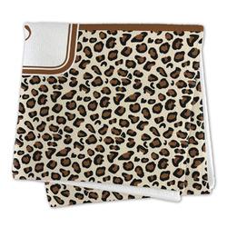Leopard Print Microfiber Dish Rag (Personalized)