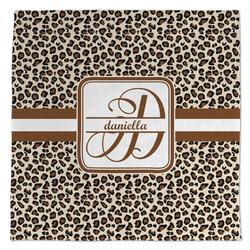 Leopard Print Large Microfiber Dish Rag (Personalized)
