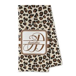Leopard Print Microfiber Kitchen Towel (Personalized)