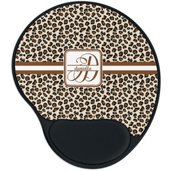 Leopard Print Mouse Pad with Wrist Support