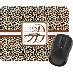 Leopard Print Rectangular Mouse Pad (Personalized)
