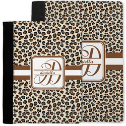 Leopard Print Notebook Padfolio w/ Name and Initial