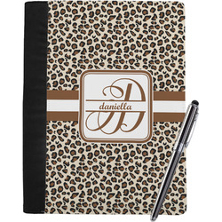 Leopard Print Notebook Padfolio (Personalized)