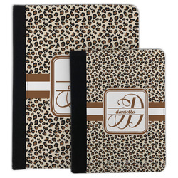 Leopard Print Padfolio Clipboard (Personalized)