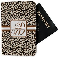 Leopard Print Passport Holder - Fabric (Personalized)