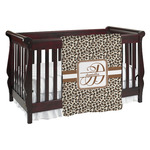 Leopard Print Baby Blanket (Personalized)