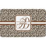 Leopard Print Bath Mat (Personalized)