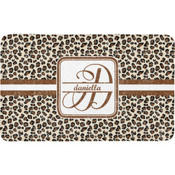 Leopard Print Bath Mat (Personalized)