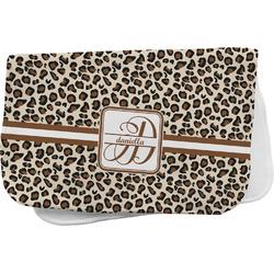 Leopard Print Burp Cloth (Personalized)