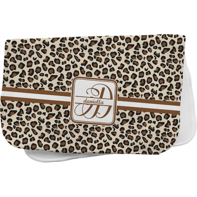 Leopard Print Burp Cloth (Personalized)