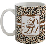 Leopard Print Coffee Mug (Personalized)