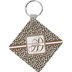 Leopard Print Diamond Key Chain (Personalized)