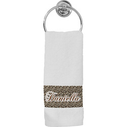 Leopard Print Hand Towel (Personalized)