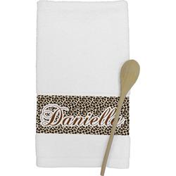 Leopard Print Kitchen Towel (Personalized)