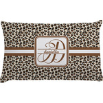 Leopard Print Pillow Case (Personalized)