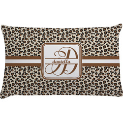 Leopard Print Pillow Case - King (Personalized)