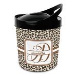 Leopard Print Plastic Ice Bucket (Personalized)
