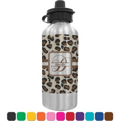 Leopard Print Water Bottle (Personalized)