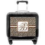 Leopard Print Pilot / Flight Suitcase (Personalized)