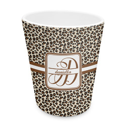 Leopard Print Plastic Tumbler 6oz (Personalized)