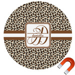 Leopard Print Car Magnet (Personalized)