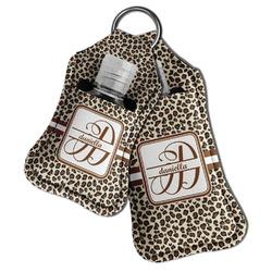 Leopard Print Hand Sanitizer & Keychain Holder (Personalized)