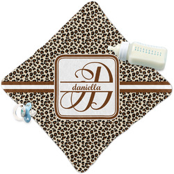 Leopard Print Security Blanket (Personalized)