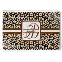Leopard Print Serving Tray (Personalized)