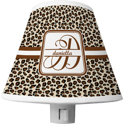 Leopard Print Shade Night Light (Personalized)