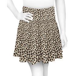 Leopard Print Skater Skirt (Personalized)