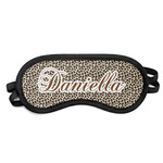Leopard Print Sleeping Eye Mask (Personalized)