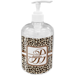 Leopard Print Soap / Lotion Dispenser (Personalized)